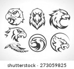 Eagles Logos Emblems Template...