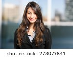 portrait of a smiling... | Shutterstock . vector #273079841