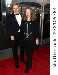 Small photo of NEW YORK-APR 21: Ronan Farrow (L) and mother Mia Farrow attend the 2015 Time 100 Gala at Frederick P. Rose Hall, Jazz at Lincoln Center on April 21, 2015 in New York City.