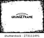 abstract grunge frame. vector...   Shutterstock .eps vector #273111491