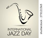 international jazz day vector... | Shutterstock .eps vector #273121565
