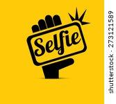 taking selfie photo on smart... | Shutterstock .eps vector #273121589