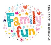 family fun | Shutterstock .eps vector #273147569