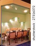 restaurant interior details | Shutterstock . vector #27316372