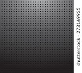 blank dark pegboard background | Shutterstock .eps vector #273169925