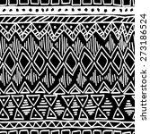 seamless ethnic pattern. black... | Shutterstock .eps vector #273186524