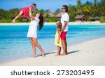 young family on vacation | Shutterstock . vector #273203495