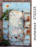 ocean sea wall door covered... | Shutterstock . vector #2732125