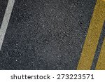 Asphalt Surface Of Road With...