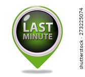 last minute pointer icon on... | Shutterstock . vector #273225074