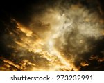 dramatic sky background | Shutterstock . vector #273232991