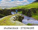 fantastic country iceland.... | Shutterstock . vector #273246185