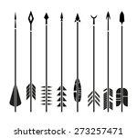 eight arrows | Shutterstock .eps vector #273257471