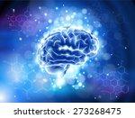 brain   formulas organic...   Shutterstock . vector #273268475