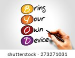 bring your own device  byod  ...   Shutterstock . vector #273271031