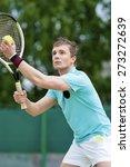 sport and tennis concept ... | Shutterstock . vector #273272639