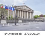 Small photo of The french national assembly (Palais Bourbon) - the French Parliament (Assemblee nationale).