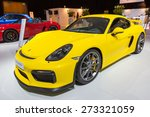 Постер, плакат: New 2016 Porsche Cayman