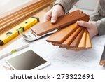 professional interior designer... | Shutterstock . vector #273322691