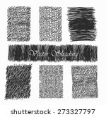vector shading collection.... | Shutterstock .eps vector #273327797