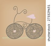 cycling love | Shutterstock .eps vector #273329651