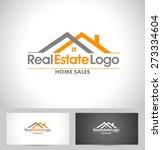 real estate logo design.... | Shutterstock .eps vector #273334604