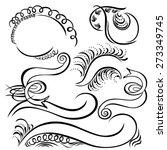 calligraphic swirling