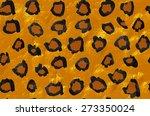 leopard print pattern | Shutterstock .eps vector #273350024
