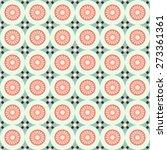 primitive retro seamless... | Shutterstock . vector #273361361