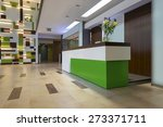 reception area with reception... | Shutterstock . vector #273371711