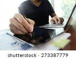 young creative designer man...   Shutterstock . vector #273387779