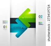 business infographic template.... | Shutterstock .eps vector #273419714