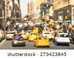 Rush Hour With Defocused Cars...