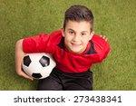 high angle shot of a junior... | Shutterstock . vector #273438341