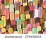 ice cream vector illustration....   Shutterstock .eps vector #273450425