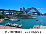 view of sydney harbour and... | Shutterstock . vector #273453011