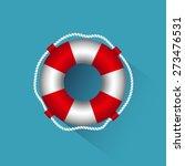 icon lifebuoy | Shutterstock . vector #273476531