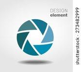 shutter icon or logo design...   Shutterstock .eps vector #273482999