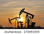 the oil pump   | Shutterstock . vector #273492545