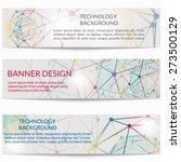 set of templates business... | Shutterstock .eps vector #273500129