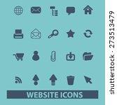 website  internet isolated... | Shutterstock .eps vector #273513479