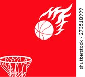 basketball design element and... | Shutterstock .eps vector #273518999