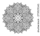 Ornament Black White Card With...