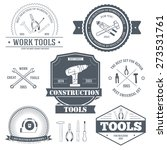 Work Tools Set Label Template...