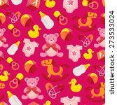 a vector illustration of cute...   Shutterstock .eps vector #273533024