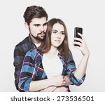 tehnology  internet  emotional  ... | Shutterstock . vector #273536501