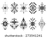 vector tribal elements  ethnic... | Shutterstock .eps vector #273541241