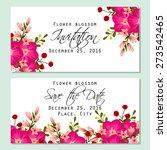 flower blossom. romantic...   Shutterstock .eps vector #273542465
