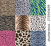 repeated wildlife animal skin... | Shutterstock .eps vector #273543659
