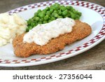 Country Fried Steak With Gravy...